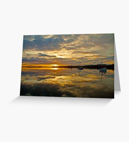 Sunrise Boomer Bay, Tasmania Greeting Card