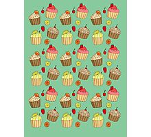 Cupcake Frezy ~yummers~ Photographic Print