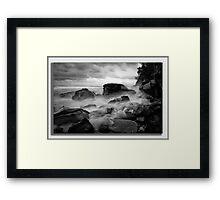 Coastal Moods Framed Print