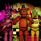 Fnaf 1 office poster. by toxic-tangerine