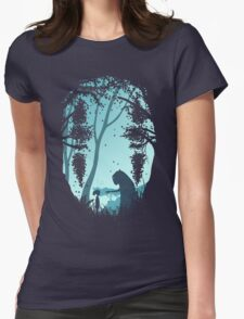 Lonely Spirit Womens Fitted T-Shirt