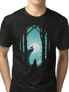 Full Moon Tri-blend T-Shirt