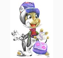 Charcoal and Oil - Jiminy Cricket T-Shirt