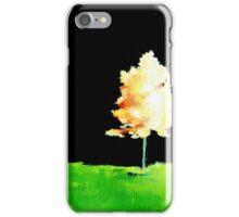 Fall Trees in Yellow iPhone Case/Skin
