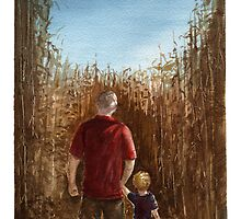 Corn Maze by Sean Seal