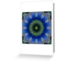 Cancer Mandala Greeting Card