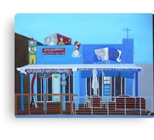 Rod Bending's and Cafe Tsunami Canvas Print