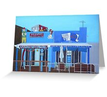 Rod Bending's and Cafe Tsunami Greeting Card