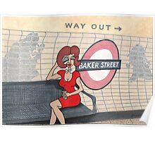 Wildago's Baker Street Pearl Poster