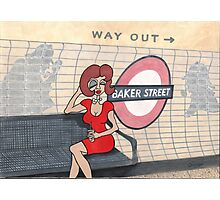 Wildago's Baker Street Pearl Photographic Print