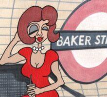 Wildago's Baker Street Pearl Sticker