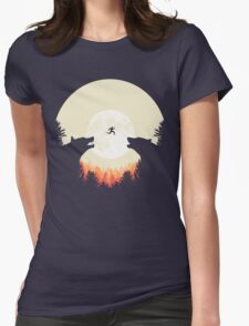 Runaway Womens Fitted T-Shirt