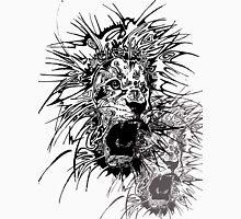 Lion Art Mens V-Neck T-Shirt