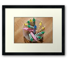 HAPPY BIRTHDAY TO YOU Framed Print