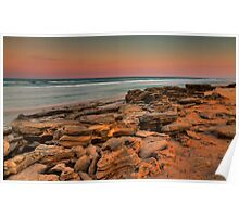 Sunset, Washington Oaks State Park Poster