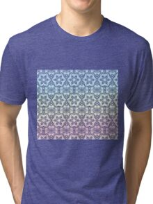 Blue Star pattern Tri-blend T-Shirt