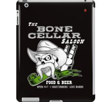 THE BONE CELLAR SALOON iPad Case/Skin