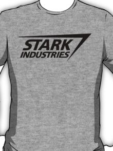 Stark Industries-Black T-Shirt