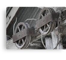Pulley confusion Canvas Print
