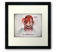 Howdy, Bowie, Art, Howdy Doody, David Bowie, Aladdin Sane, Ziggy Stardust, Illustration, Poster, Picture, puppet, marionette, children's, child, tv show, David Robert Jones, joe badon Framed Print