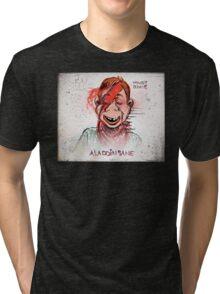 Howdy, Bowie, Art, Howdy Doody, David Bowie, Aladdin Sane, Ziggy Stardust, Illustration, Poster, Picture, puppet, marionette, children's, child, tv show, David Robert Jones, joe badon Tri-blend T-Shirt