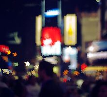 Stars in Times Square by bertadp