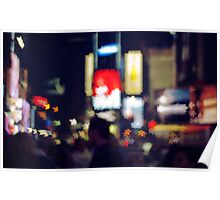 Stars in Times Square Poster