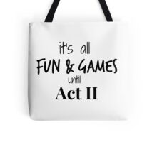 Act 2 gets Real Tote Bag