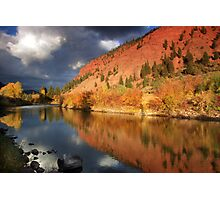 Eagle River Reflection Photographic Print