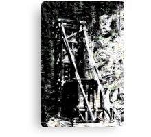 Abandoned Mine Structure Canvas Print