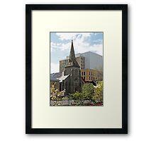 Congregational Church Hobart Tasmania, 1857 Framed Print