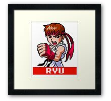 Ryu (MM) Framed Print