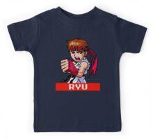 Ryu - Street Fighter Sprite Kids Tee