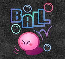 Kirby Ball by likelikes