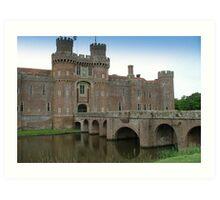 Herstmonceux Castle-England © Art Print