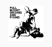 MMA Full mount ground and pound BJJ  T-Shirt