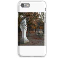 Parisian solitude iPhone Case/Skin