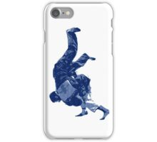 Judo Throw in Gi iPhone Case/Skin