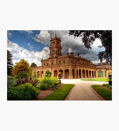 Werribee Mansion Photographic Print