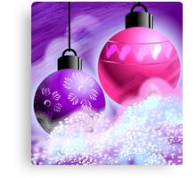 Amazing beauty of colourful hanging bulbs	 Canvas Print
