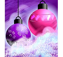 Amazing beauty of colourful hanging bulbs Photographic Print