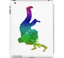 Judo Throw in Gi Multicolour  iPad Case/Skin