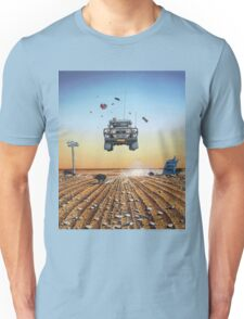 Are We There Yet?! Moonie. Unisex T-Shirt