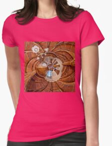 Tuscany Retreat Womens Fitted T-Shirt