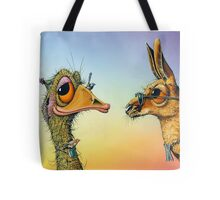 Chatting Up The Birds Tote Bag
