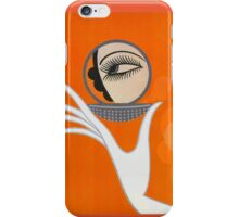 Playful Art Deco cute makeup fashion art iPhone Case/Skin