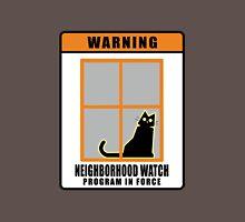 Neighborhood Watch Cat Unisex T-Shirt