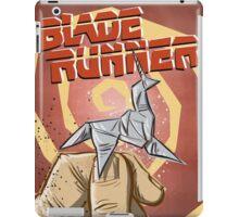 Blade Runner, Art, movie, film, sci fi, science fiction, unicorn, origami, origamy, joe badon, do androids dream of electric sheep, book, philip k dick, bladerunner iPad Case/Skin