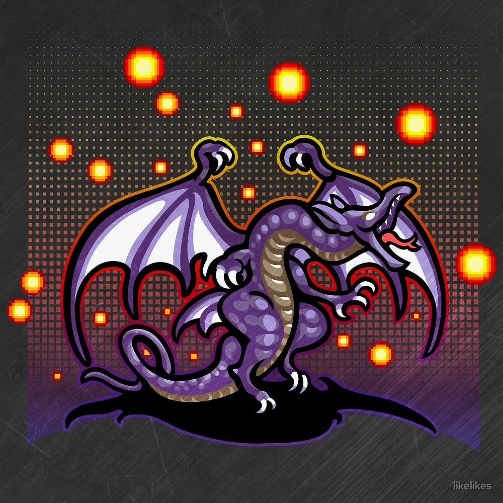 Bahamut FF4 by likelikes