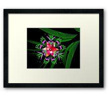 Paradise Blossom Framed Print